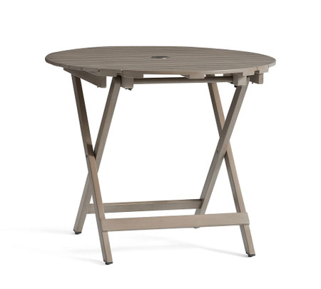 Chatham Folding Bistro Table, Gray