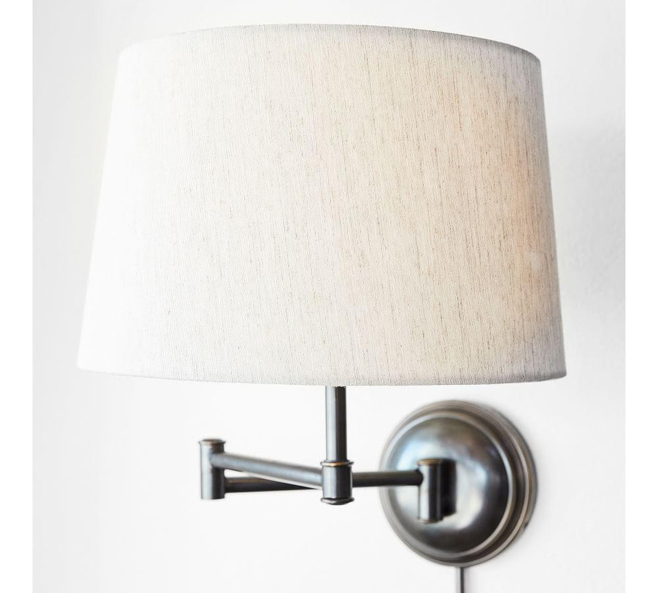 Chelsea Swing Arm Sconce Base Pottery Barn Canada