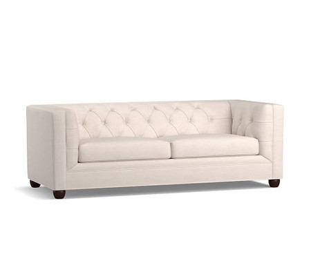 Chesterfield Square Arm Upholstered Sleeper Sofa