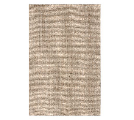 Chunky Wool/Jute Rug - Natural