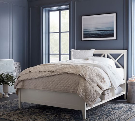 Clara Lattice Storage Platform Bed