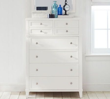 Clara 6-Drawer Tall Dresser