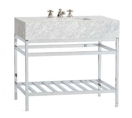 Clarence Single Sink Apothecary Console