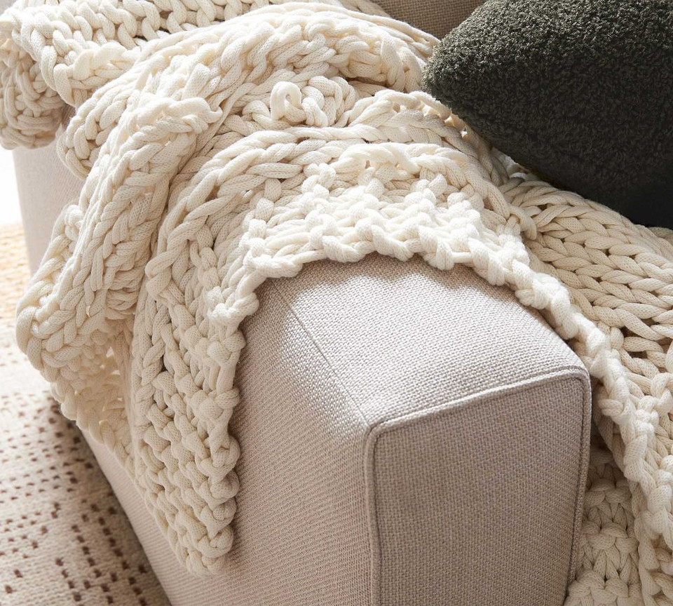 Colossal Handknit Throws