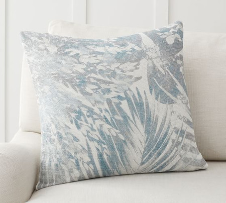 Cool Palm Printed Pillow Cover