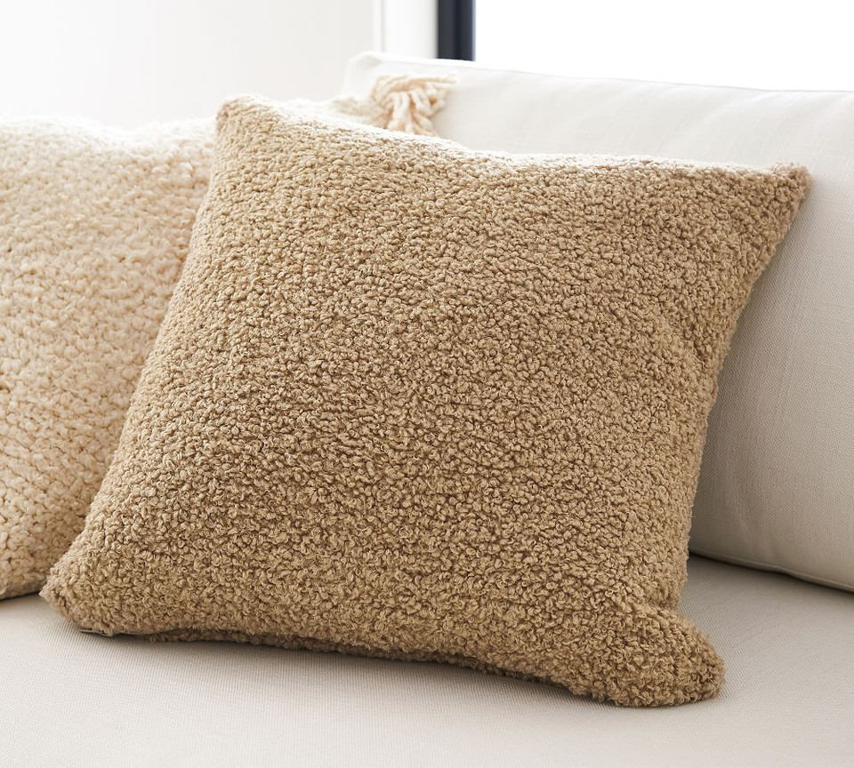 Cozy Teddy Faux Fur Pillow Covers