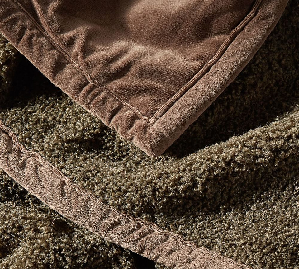 Cozy Teddy Faux Fur Throws