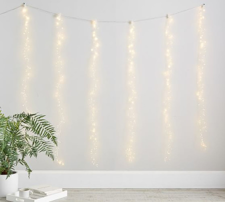 Curtain Rain String Lights