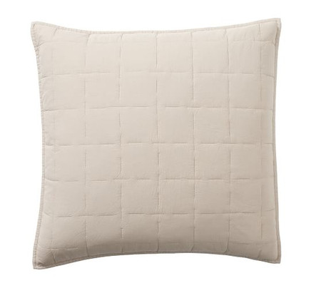 Davenport Cotton Quilted Shams