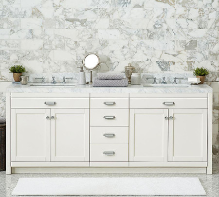 Davis Double Sink Console with Drawers