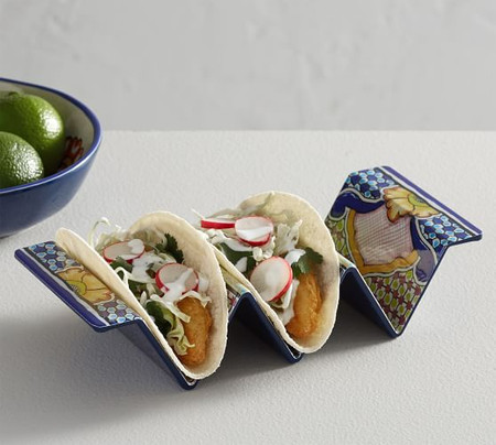 Del Sol Melamine Taco Holder