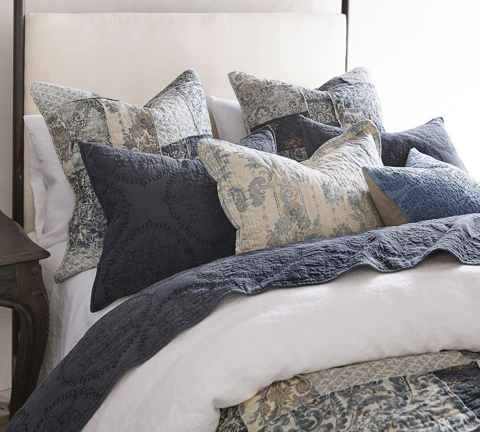 Delaney Patchwork Sham | Pottery Barn Canada