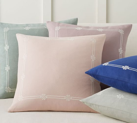 Emilia Embroidered Pillow Covers