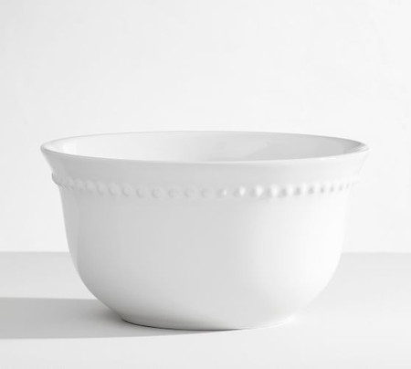 Emma Cereal Bowl, Set of 4 - White