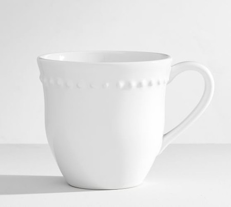 Emma Mug, Set of 4 - White