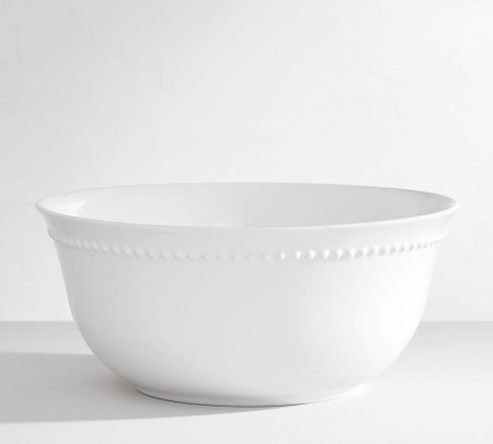 Emma Serve Bowl - True White