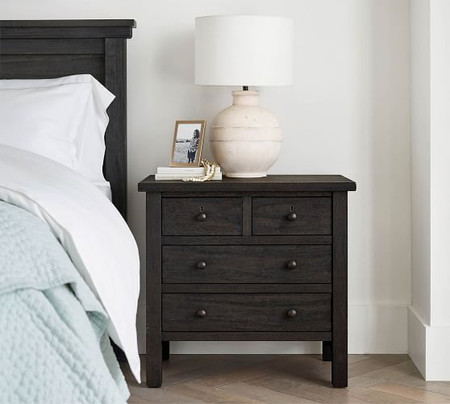 "Farmhouse 28.5"" 4-Drawer Nightstand"