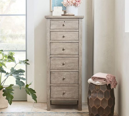 Farmhouse 6-Drawer Lingerie Dresser