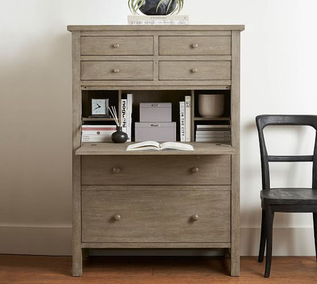 "Farmhouse 40"" Secretary Desk with Drawers"