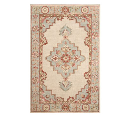 Finn Hand-Knotted Rug - Warm Multi