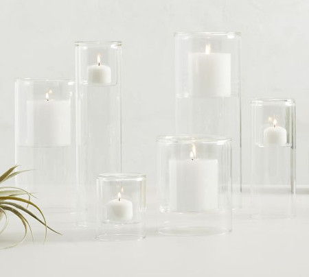 Floating Glass Candle Holders