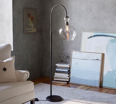 Flynn Recycled Glass Floor Lamp