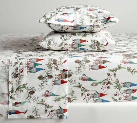 Forest Gnome Organic Cotton Sheet Set