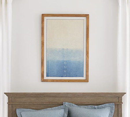 Framed Ombre Textile Wall Art