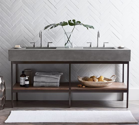 "Frances Double Sink Vanity – 68""​"