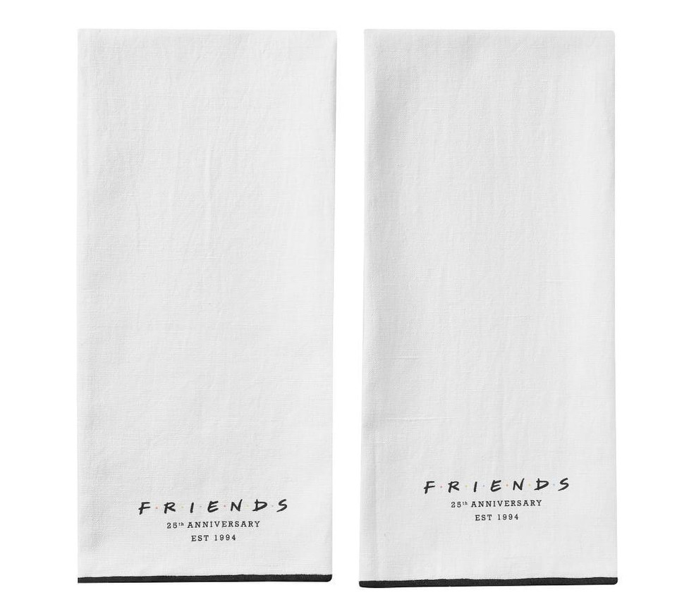 Friends Tea Towels, Set of 2