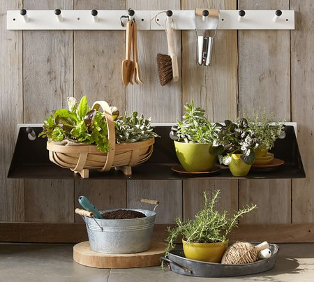 Gabrielle System Long Metal Shelf