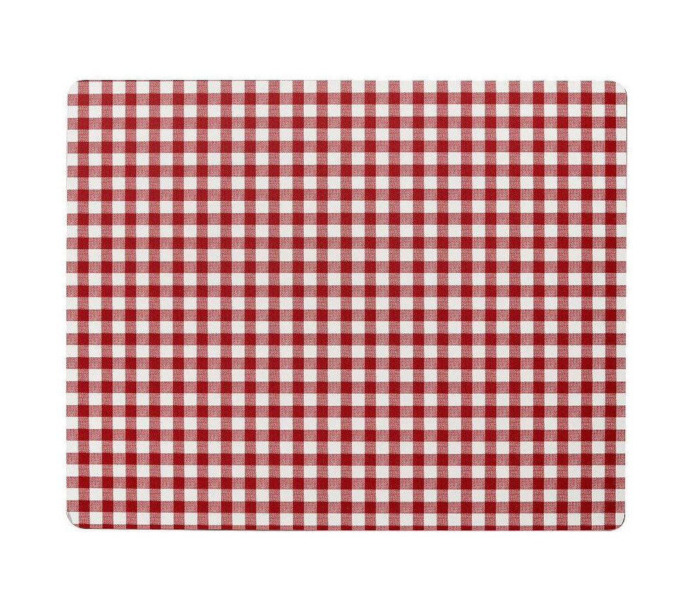 Gingham Cork Placemat