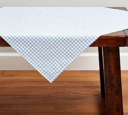 Gingham Table Throw