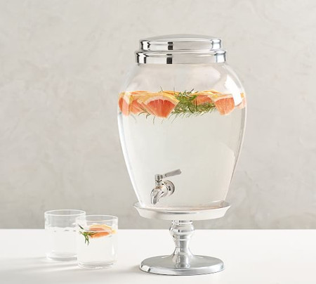 PB Classic Glass Drink Dispenser