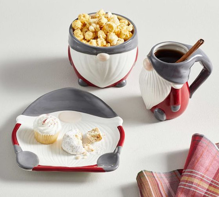 Gnome Lover's Dinnerware 3-Piece Gift Set