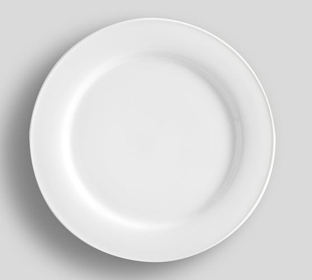 Great White Traditional Dinner Plate