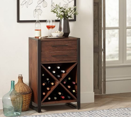 Griffin Reclaimed Wood Wine Console