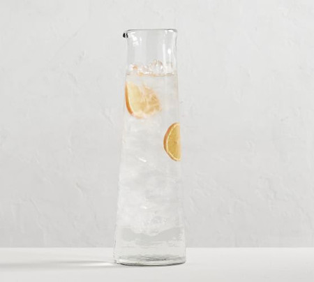 Hammered Glass Carafe