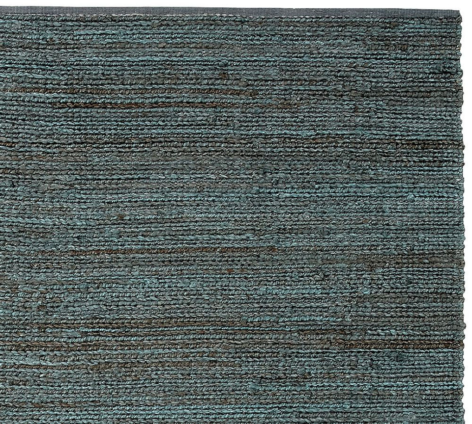 Heather Chenille Jute Rug - Indigo