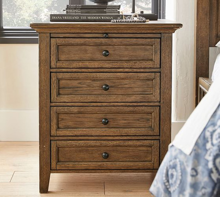 Hudson 4-Drawer Nightstand