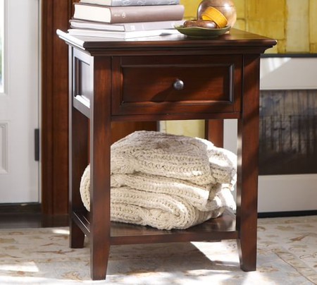 Hudson 1-Drawer Nightstand