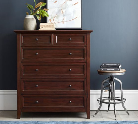 Hudson 6-Drawer Tall Dresser