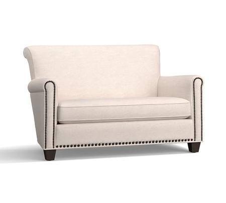 Irving Roll Arm Upholstered Settee