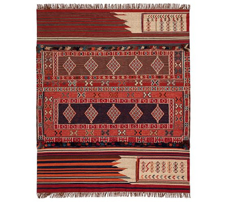 Isaac Synthetic Kilim Rug