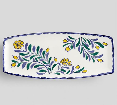 Jardin Lemon Serving Platter