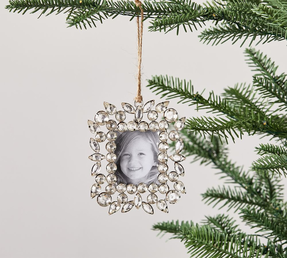Jeweled Picture Frame Ornament