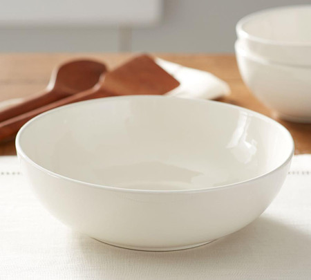 Joshua Serve Bowl - Ivory White