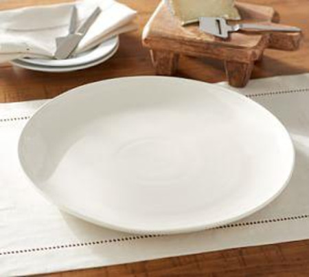 Joshua Serving Platter - Ivory White