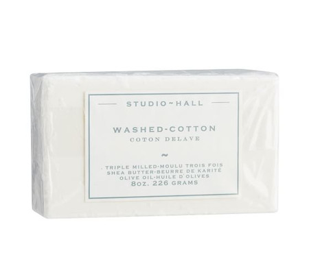 K. Hall Washed Cotton Bar Soap