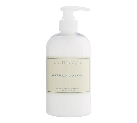 K. Hall Washed Cotton Lotion Pump